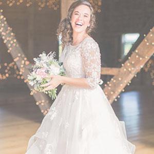 Kathryn Kollection Wedding Gown